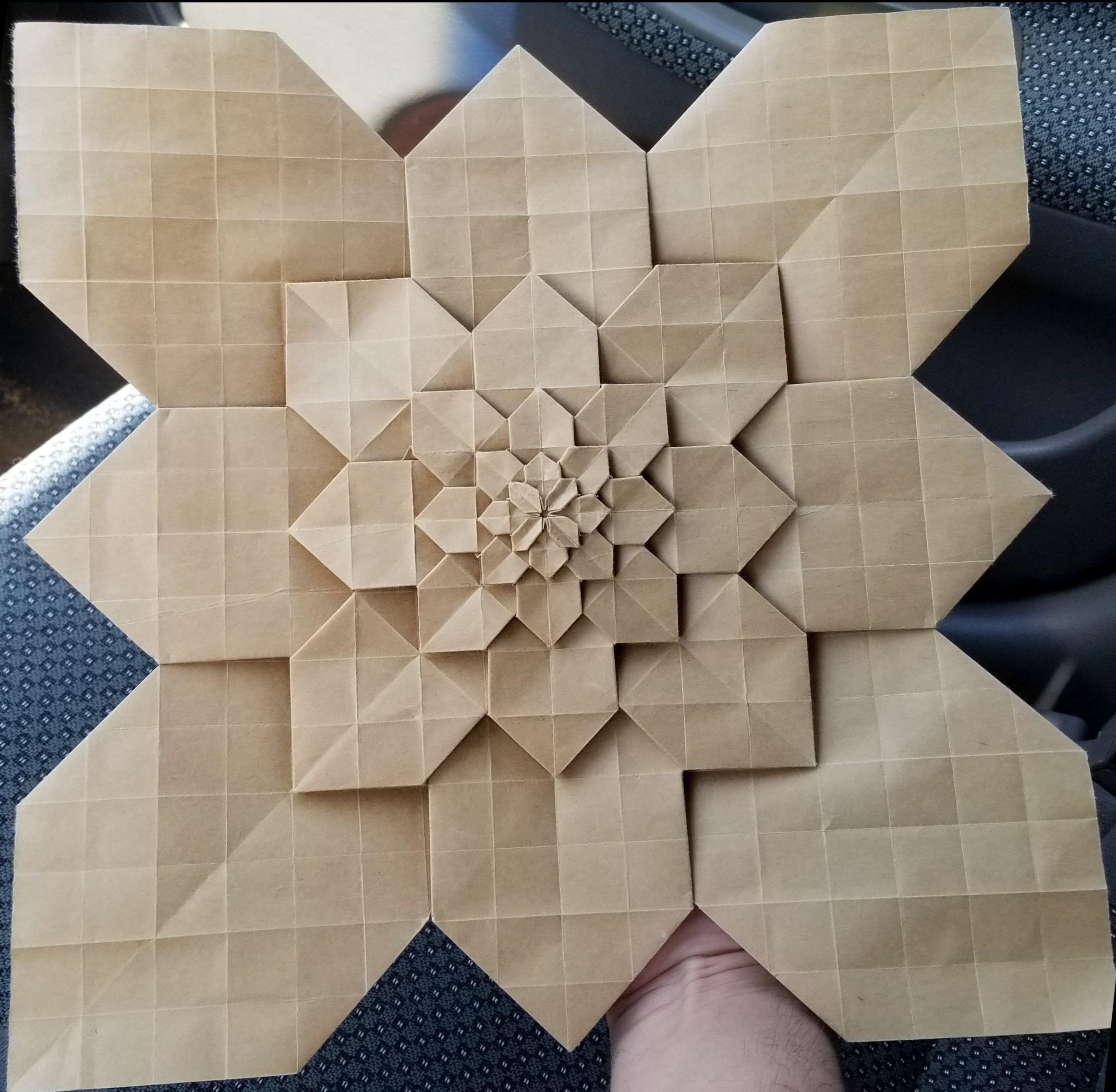 Origami Hydrangea Paper 1Ft X 1Ft