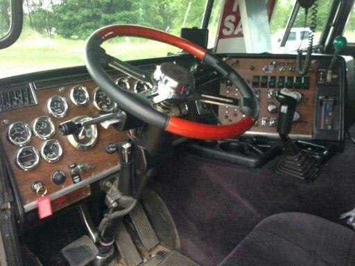 362 Peterbilt Cabover Truck Interior, Truck Design, Peterbilt, Semi Trucks, Cool Trucks