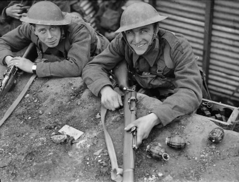 Image result for ww2 british soldier with hand grenade