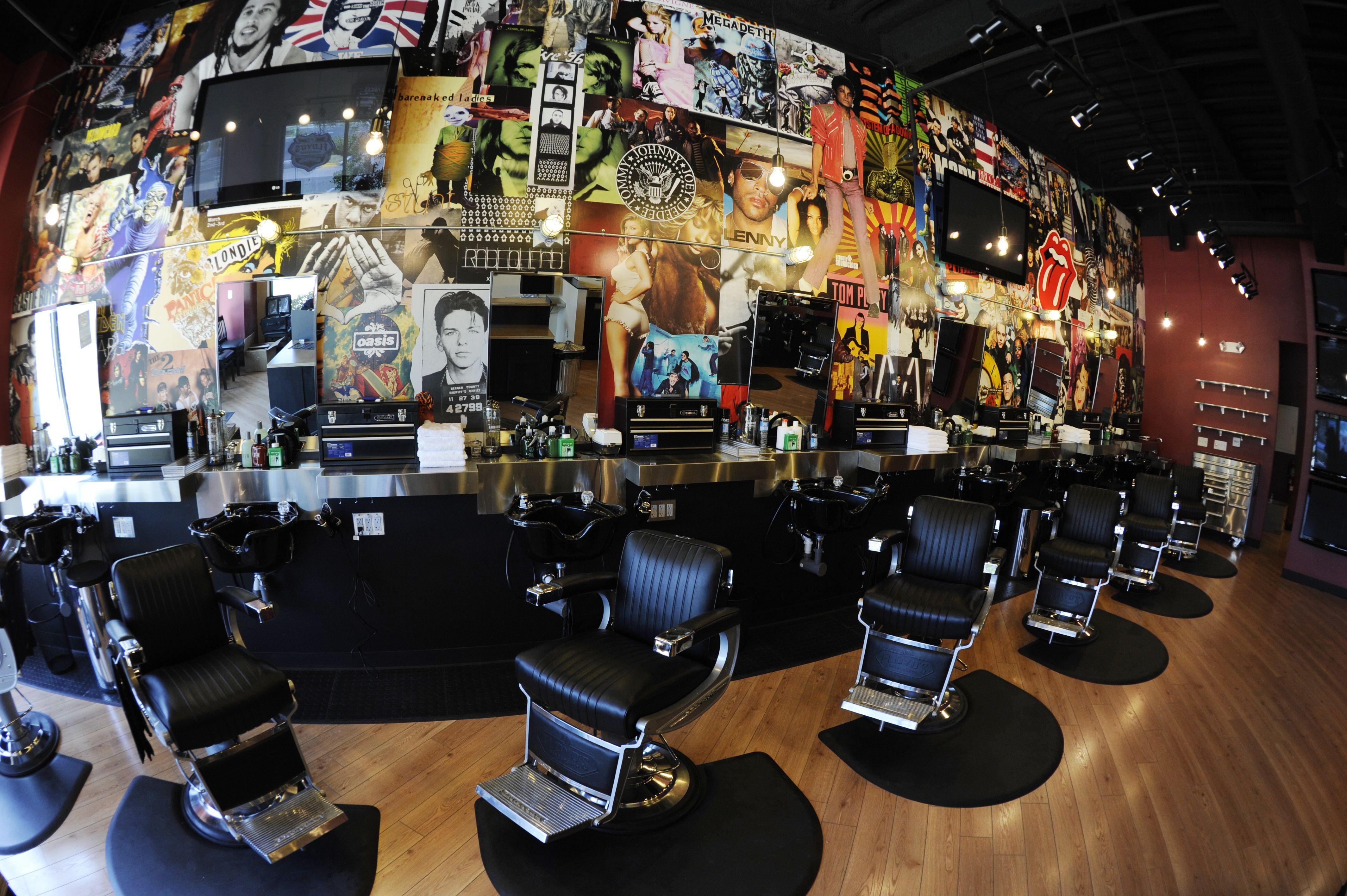 The Coolest Barbershop Around Floyd S 99 Barber Shop Mar Vista Floyd
