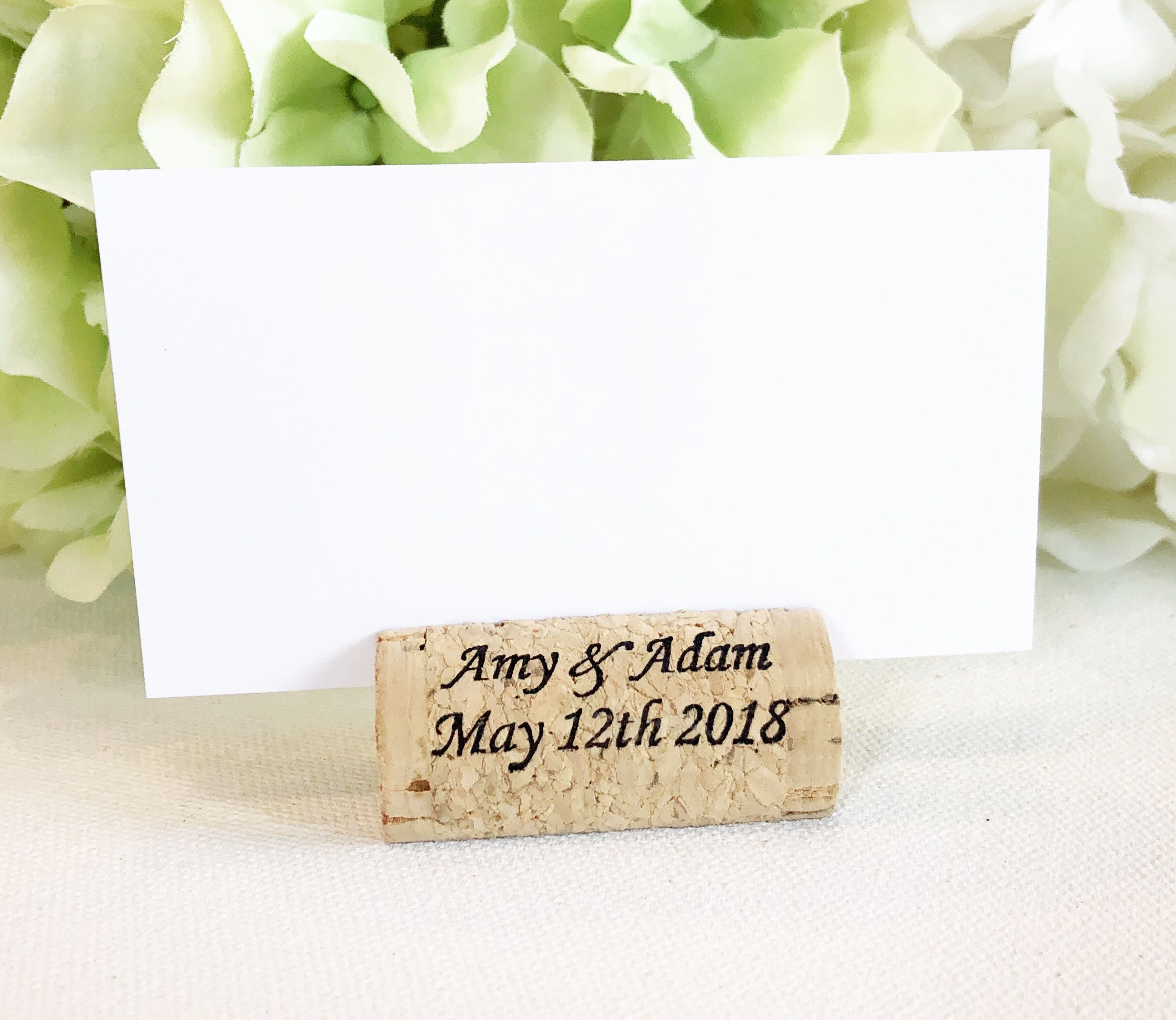 Wine Cork Place Card Holder - Build Your Own | Place card, Rustic ...