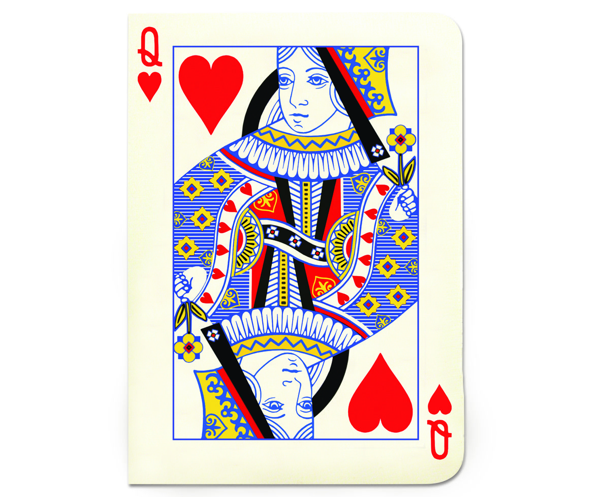 Queen Of Hearts Playing Card Image Loading zoom Hearts
