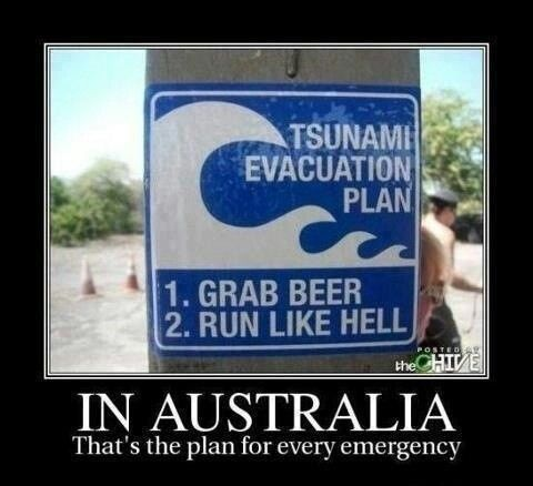 Aussie Emergency Action Plan  Inquiring Minds