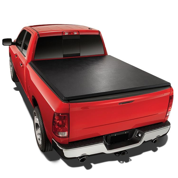 83 11 Ford Ranger Short Bed 72 Bed Soft Folding Tri Fold Tonneau Cover Tonneau Cover Truck Bed Covers Tailgate Accessories