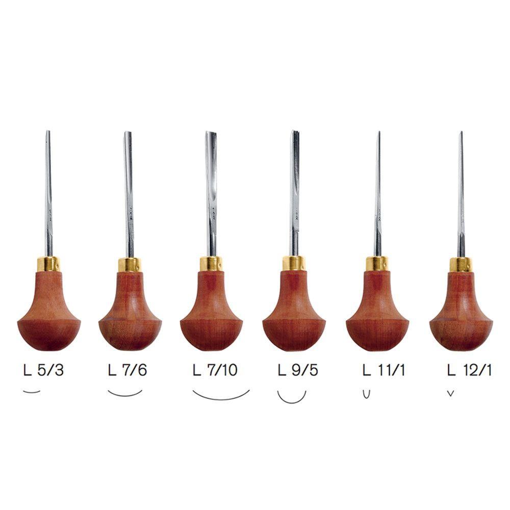 Set C Pfeil Lino and Block Cutter Tool Set of 6