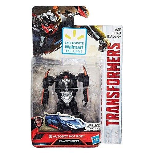 TRANSFORMERS Last Knight HOT ROD Action Figure DELUXE CLASS Wal Mart Exclusive