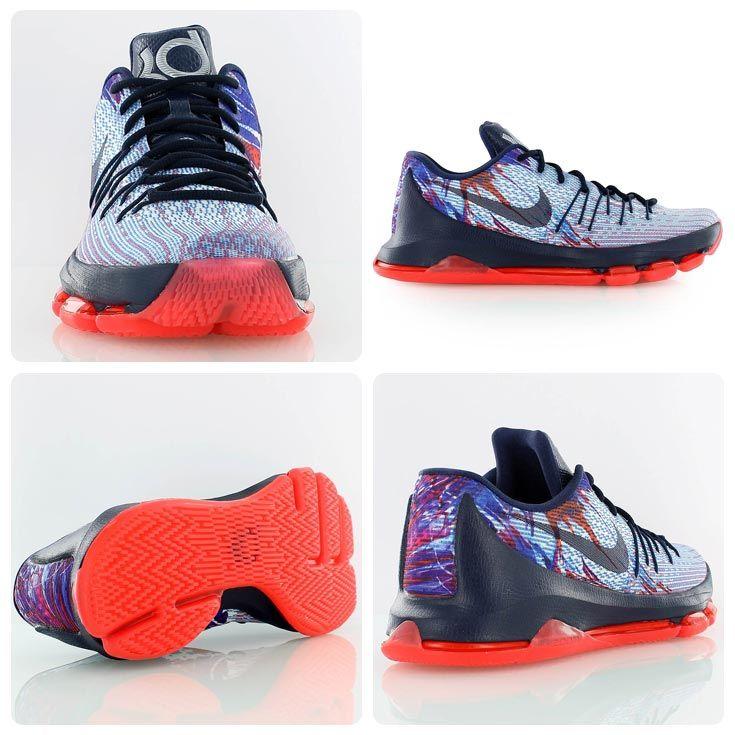 dcd5f6044b0fd9 Nike KD 8 USA - celebrating July 4th in style