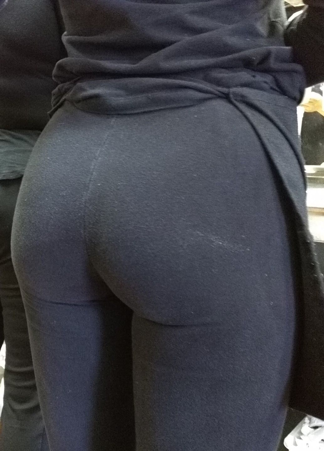 ass in black pants