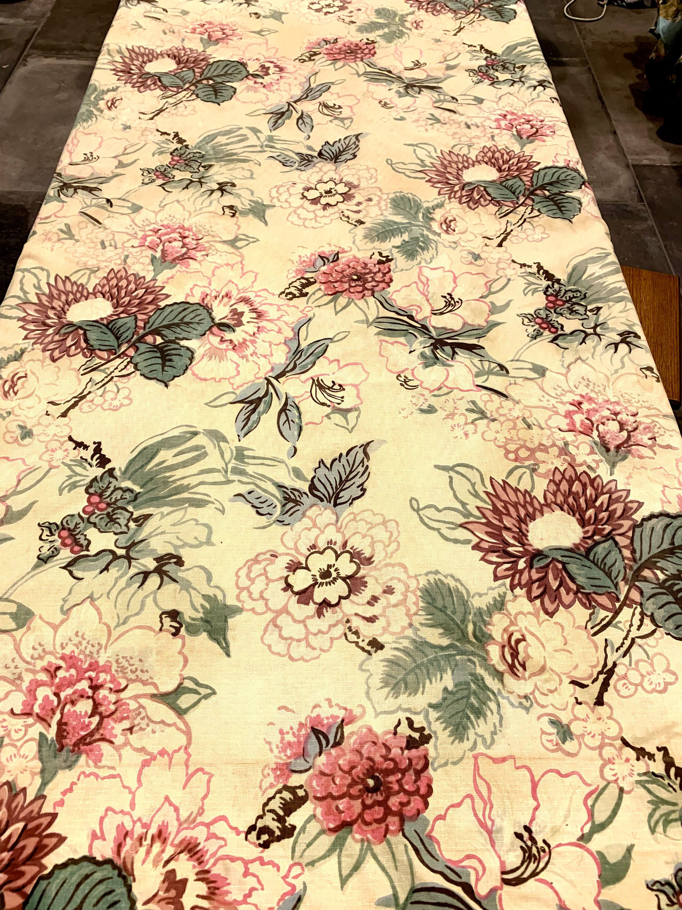 Pin On 30s And 40s Floral Textiles