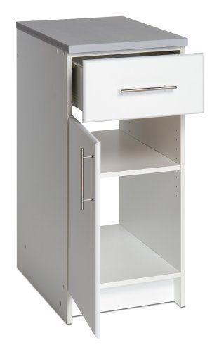 Prepac Elite Collection 16 Base With Drawer Door By Prepac 160 99 20 Deep Drawers Dimensions 16 W X Prepac Adjustable Shelving Kitchen Cabinet Storage