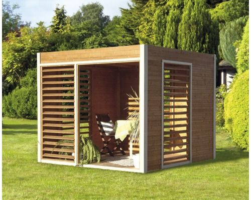 pavillon konsta modern art 264 x 256 cm natur pavillon kaufen und gartenideen. Black Bedroom Furniture Sets. Home Design Ideas