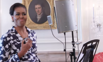 Michelle Obama Just Dropped A Rap Video About College