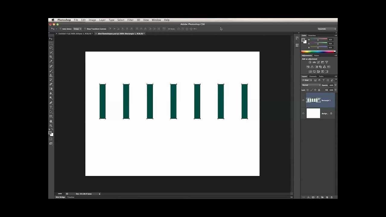Photoshop alignment tool