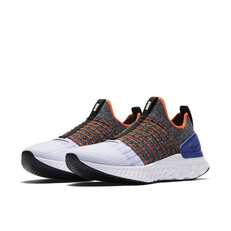Nike React Phantom Run Flyknit 2 Men's Running Shoe - Black ...