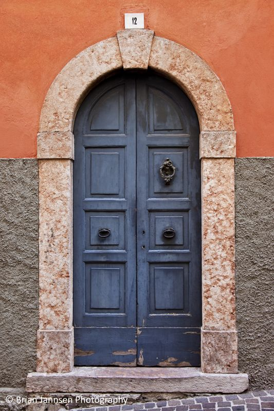 Front Door in Limone sul Garda Lombardi Italy. © Brian Jannsen Photography & Front Door in Limone sul Garda Lombardi Italy. © Brian Jannsen ...