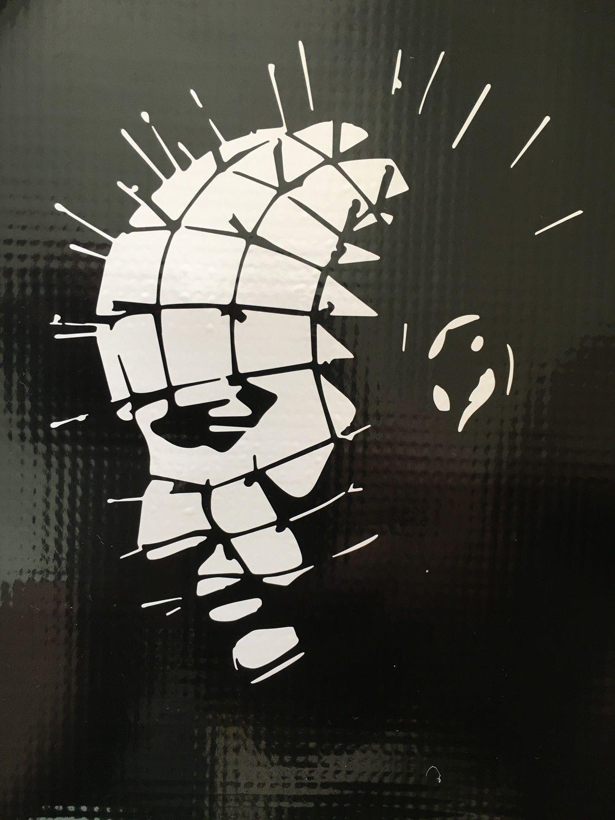 Hellraiser Pinhead Horror Halloween Decal Sticker Vinyl