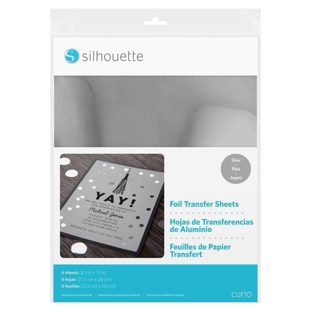 Silhouette Foil Transfer Sheets - Silver