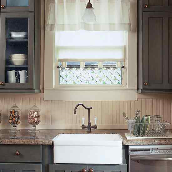 kitchens with beadboard backsplash | Cottage-Style Charm with Beaded Board