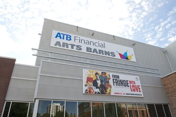 June 26, 2013 - ATB Financial Arts Barn sign unveiling ...