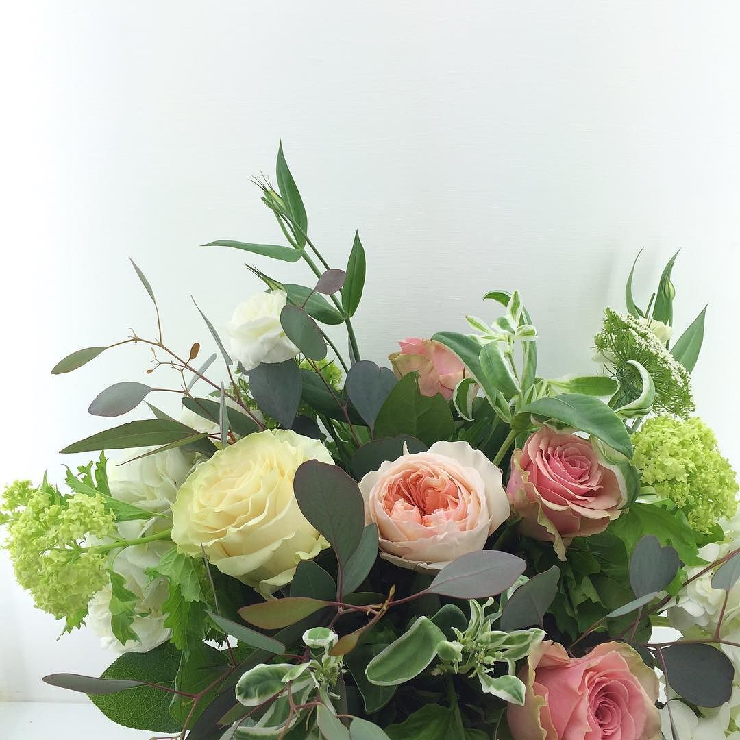 Awesome Vancouver Florist Lovely #roses And #viburnum