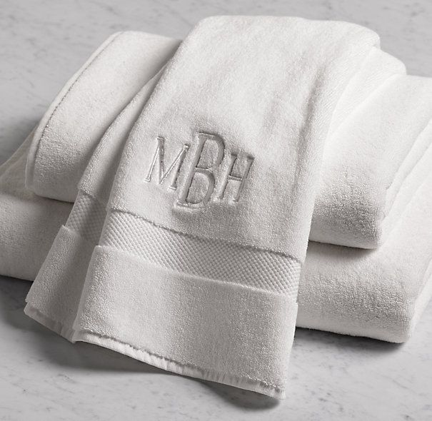 No White Towels This Time This Is Just To Show Monogram 802 Gram