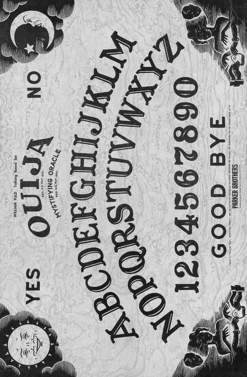 365daysofhalloween Ouija Iphone Wallpaper Wallpaper