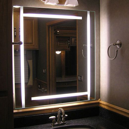 Big Vanity Mirror With Lights Delectable 21 Bathroom Mirror Ideas To Inspire Your Home Refresh  Bathroom Design Decoration