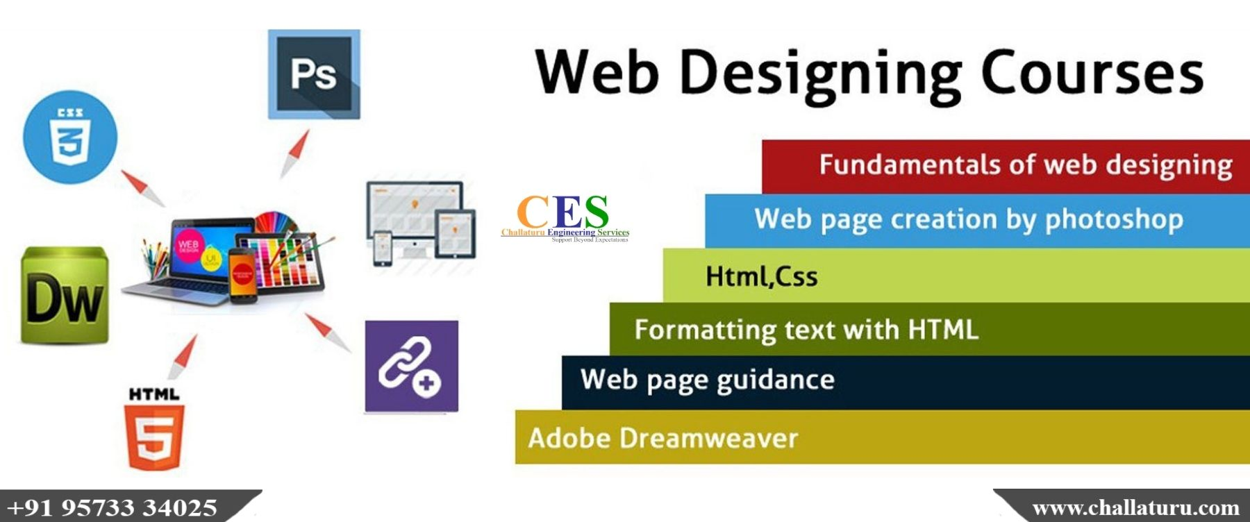 Choose One Of The Best Web Design Training In Tirupati For Professional Courses In Webdesigning Ces Web Design Course Web Design Training Web Design Quotes