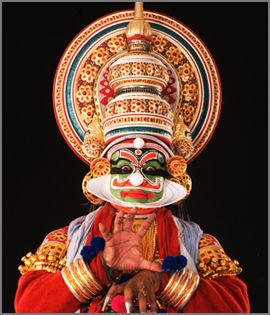 Kathakali dance from Kerala (South India)  Very different