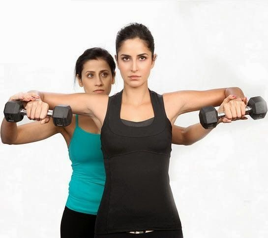 Katrina Kaif Gym Working Out Pictures Katrina Kaif Body Celebrity Workout Workout