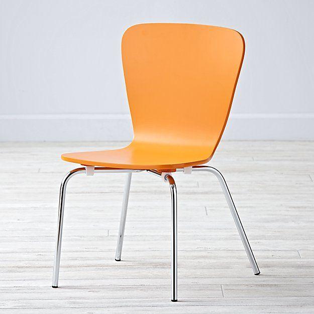 Superb Little Felix Orange Stackable Kids Chair In 2019 Nursery Inzonedesignstudio Interior Chair Design Inzonedesignstudiocom