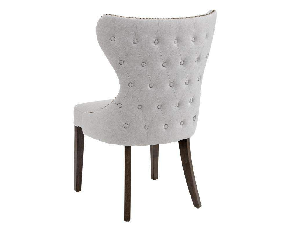 Ariana Dining Chairlight Grey Dining Chairs Gray Dining Chairs Fabric Dining Chairs