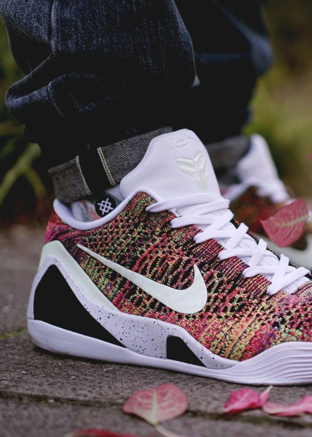 e3cd3773165 Nike iD Kobe 9 Elite Low Multicolor