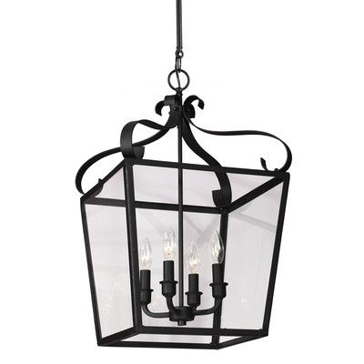 white foyer pendant lighting candle. Sea Gull Lighting Lockheart 4 Light Foyer Lantern Pendant Finish: Blacksmith | Products Pinterest And White Candle