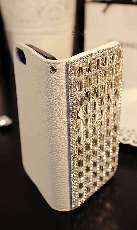 Bling phone case wallet