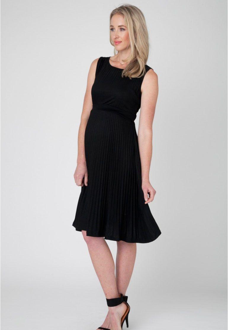 Knife pleat maternity dress from ella bella maternity boutique knife pleat maternity dress from ella bella maternity boutique ombrellifo Images