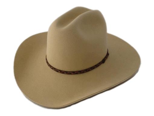 Smithbilt Hats 100 Fur Felt Kakhi Cowboy Hat Bernard Hats Cowboy Hats Leather Hats Cowboy