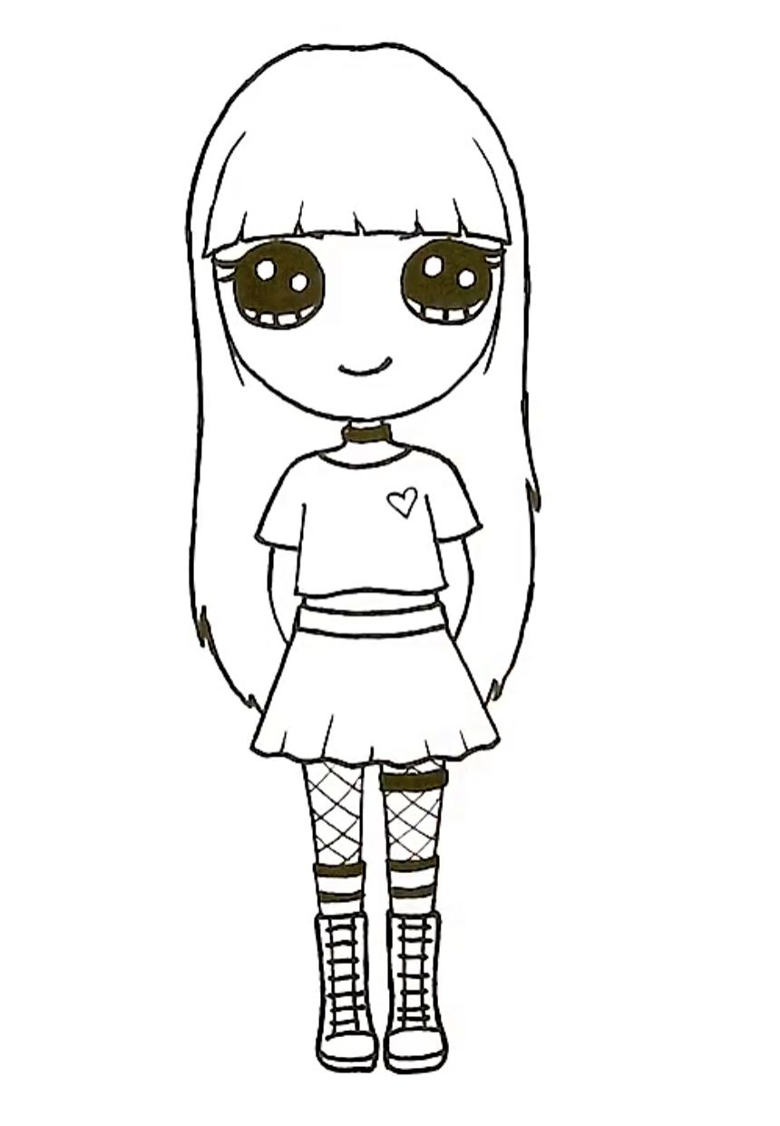 imagem de na tekenen por k de jonge desenhos kawaii