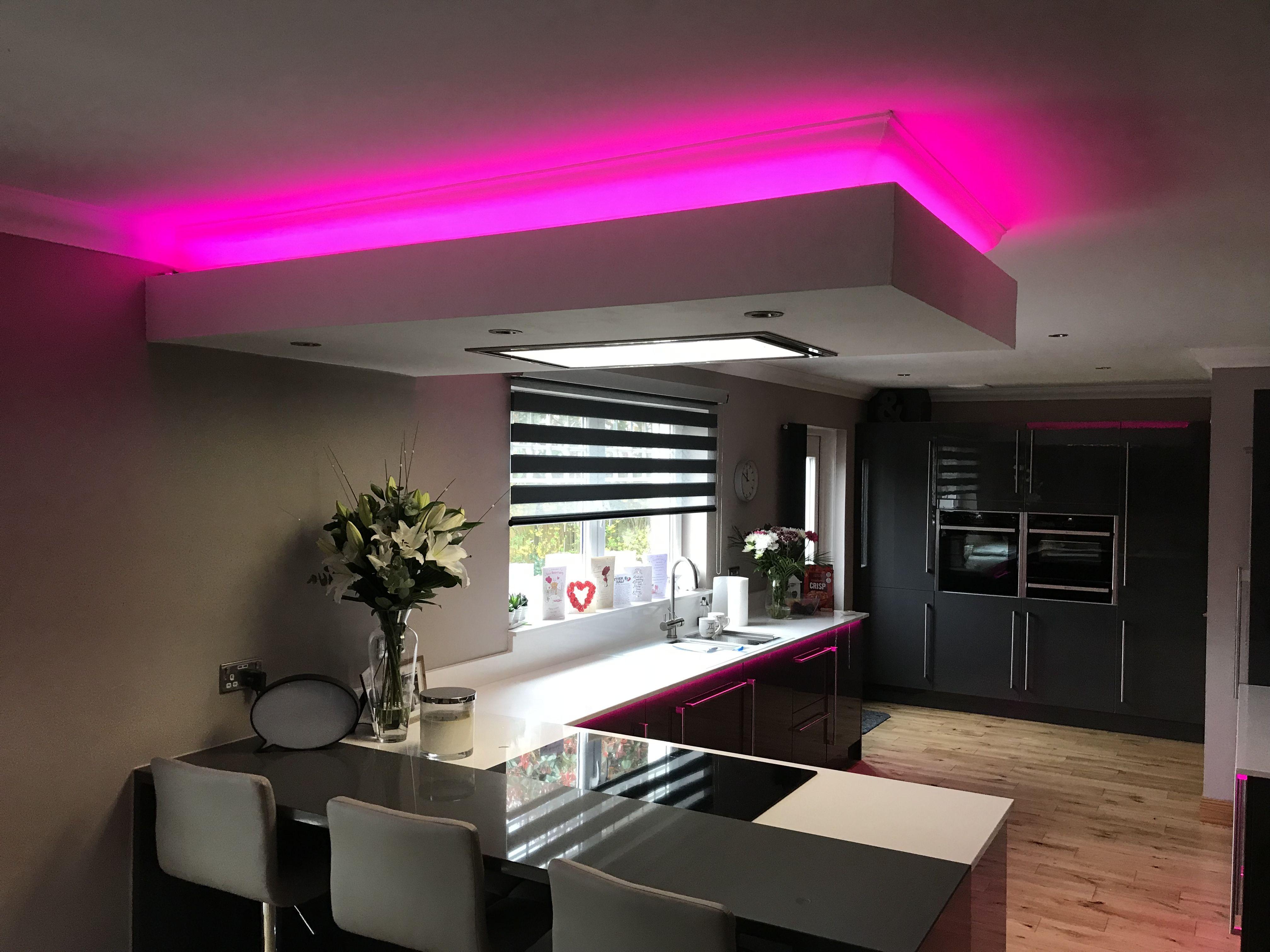 Rgb Led Strip Lighting From Eden Illumination Kitchen Led Lighting Led Kitchen Ceiling Lights Led Lights