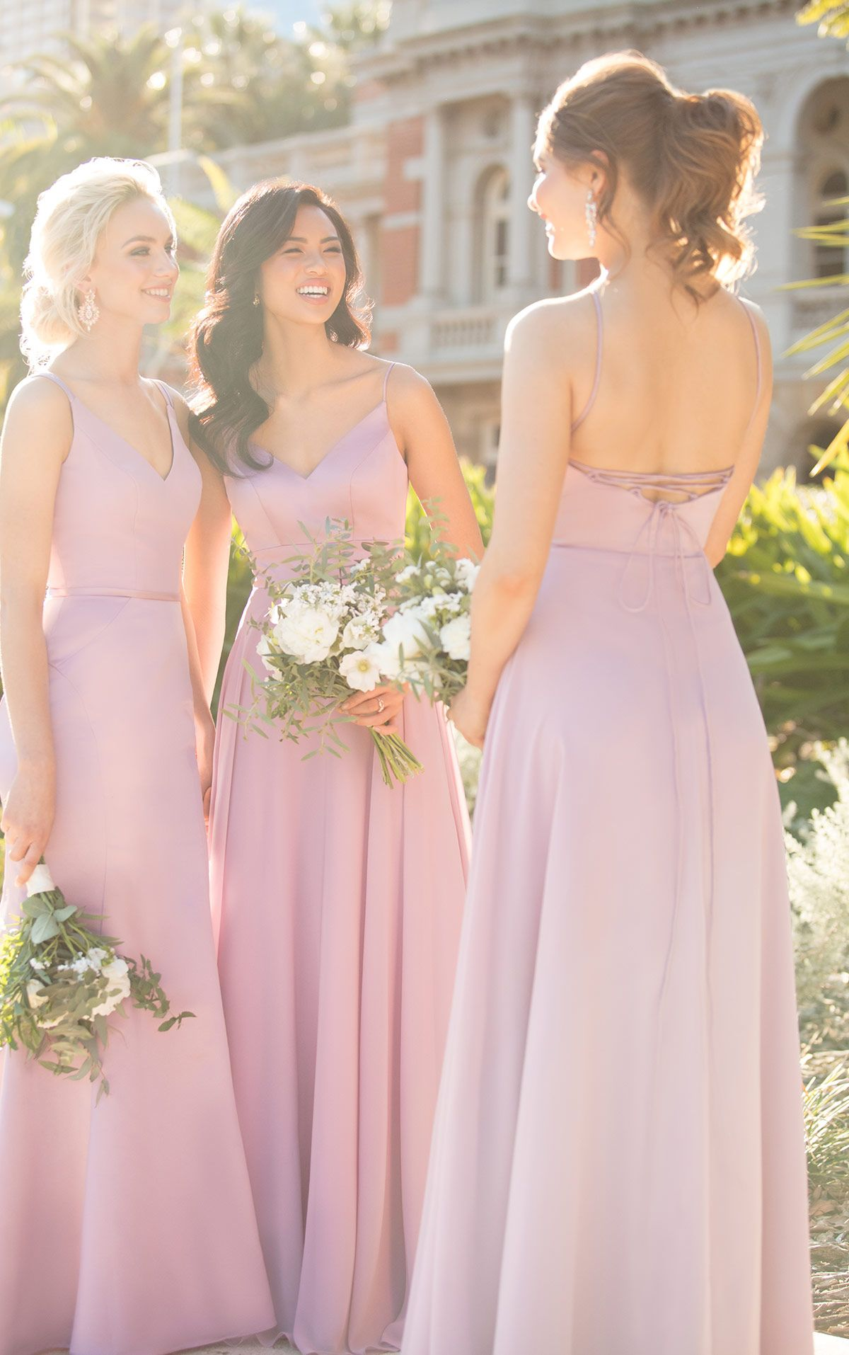 86a156134e4e Blush pink with a multi-wear back option! We are loving these new styles by  Sorella Vita!