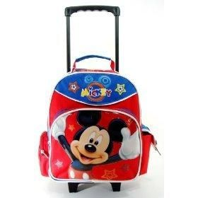 Mickey Mouse Backpack With Wheels – TrendBackpack