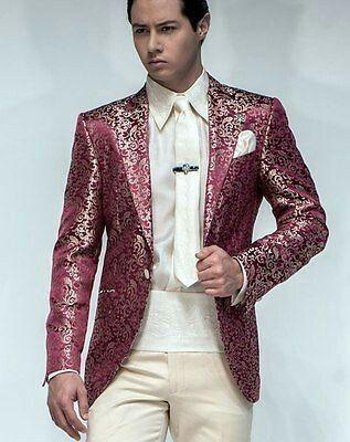 Men Designer Wedding Groom Tuxedo Dinner Sports Suit Coat Jacket Blazer Trouser