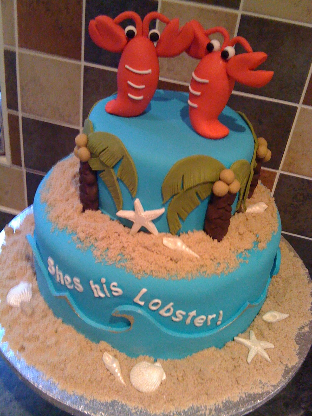 Shes His Lobster Lobster Party Birthday Cakes And Crab Boil Party