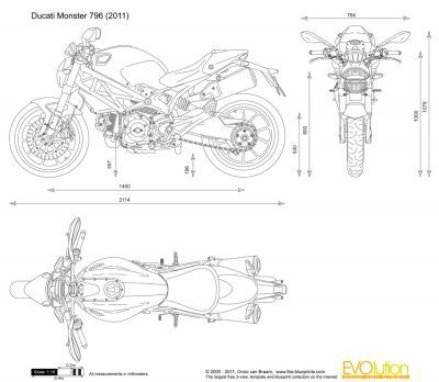 Ducati Monster 796 Blueprint Vehicle Pinterest Ducati monster - new blueprint hair design