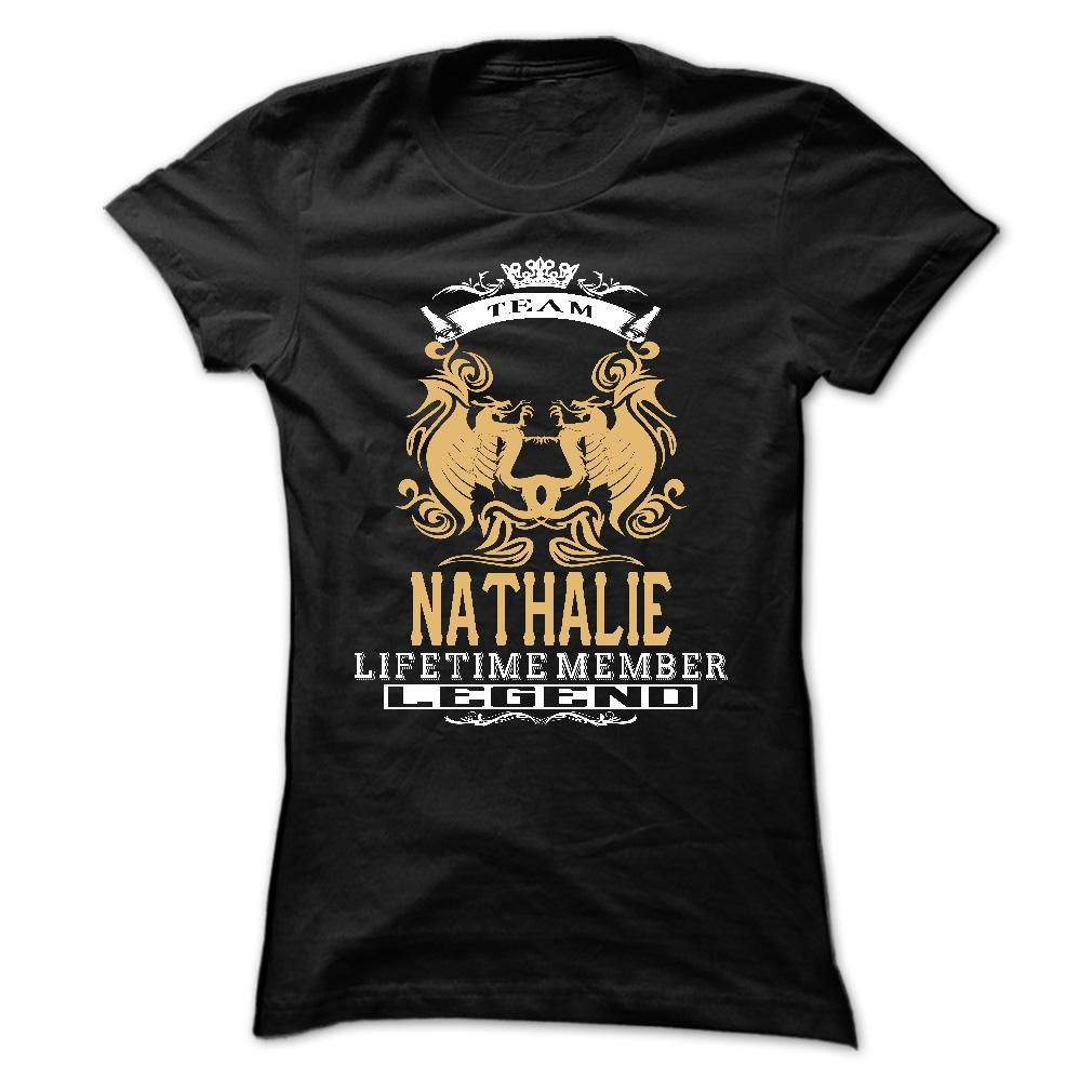 #Sportstshirts... Awesome T-shirts  Worth :$22.00Purchase Now    Low cost Codes   View pictures & pictures of NATHALIE . Team NATHALIE Lifetime member Legend  - T Shirt, Hoodie, Hoodies, Yr,Identify, Birthday t-shirts & hoodies:When you don't completely love our de....