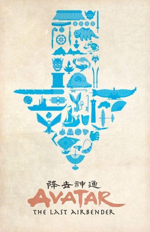 Avatar The Last Airbender Dylan West Avatar Poster The Last Airbender Avatar Airbender