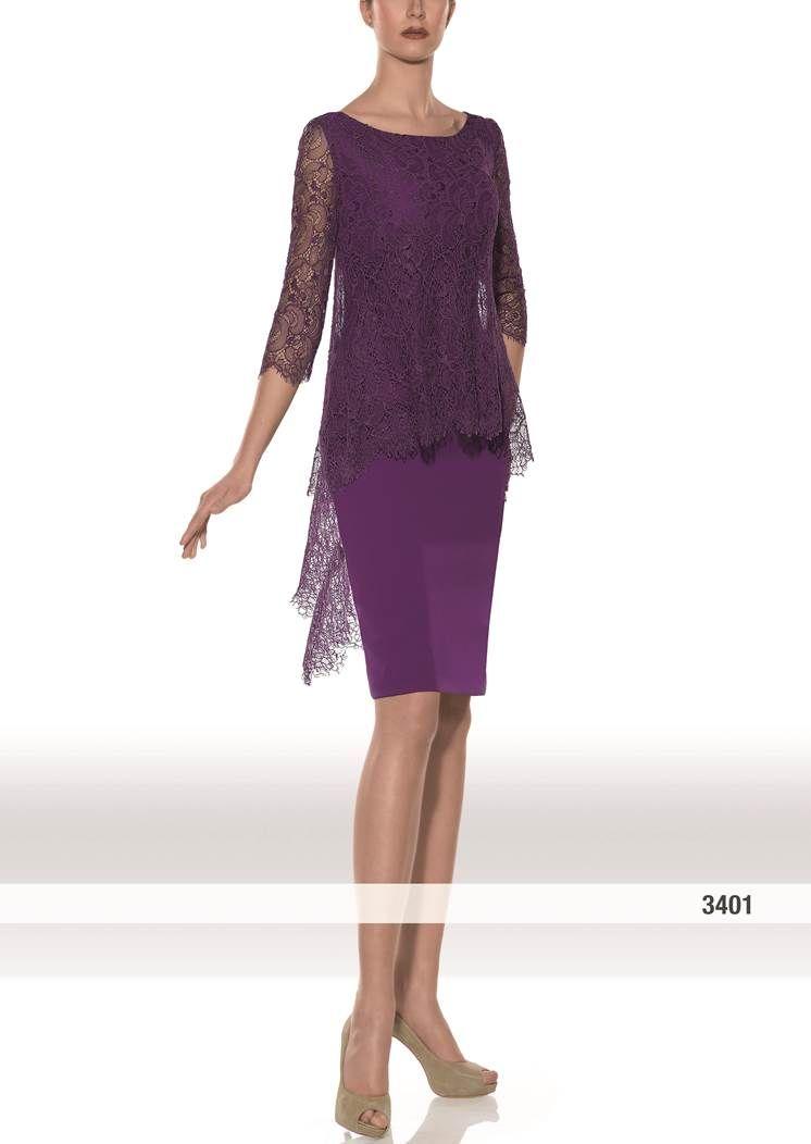 Modelo 3401 de Teresa Ripoll | vestido para madrina en color morado ...