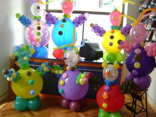 Mu ecos de globos para decorar cumplea os globos for Cuartos decorados feliz cumpleanos