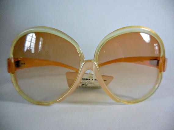 Oversized vintage sunglasses 70s sunglasses.