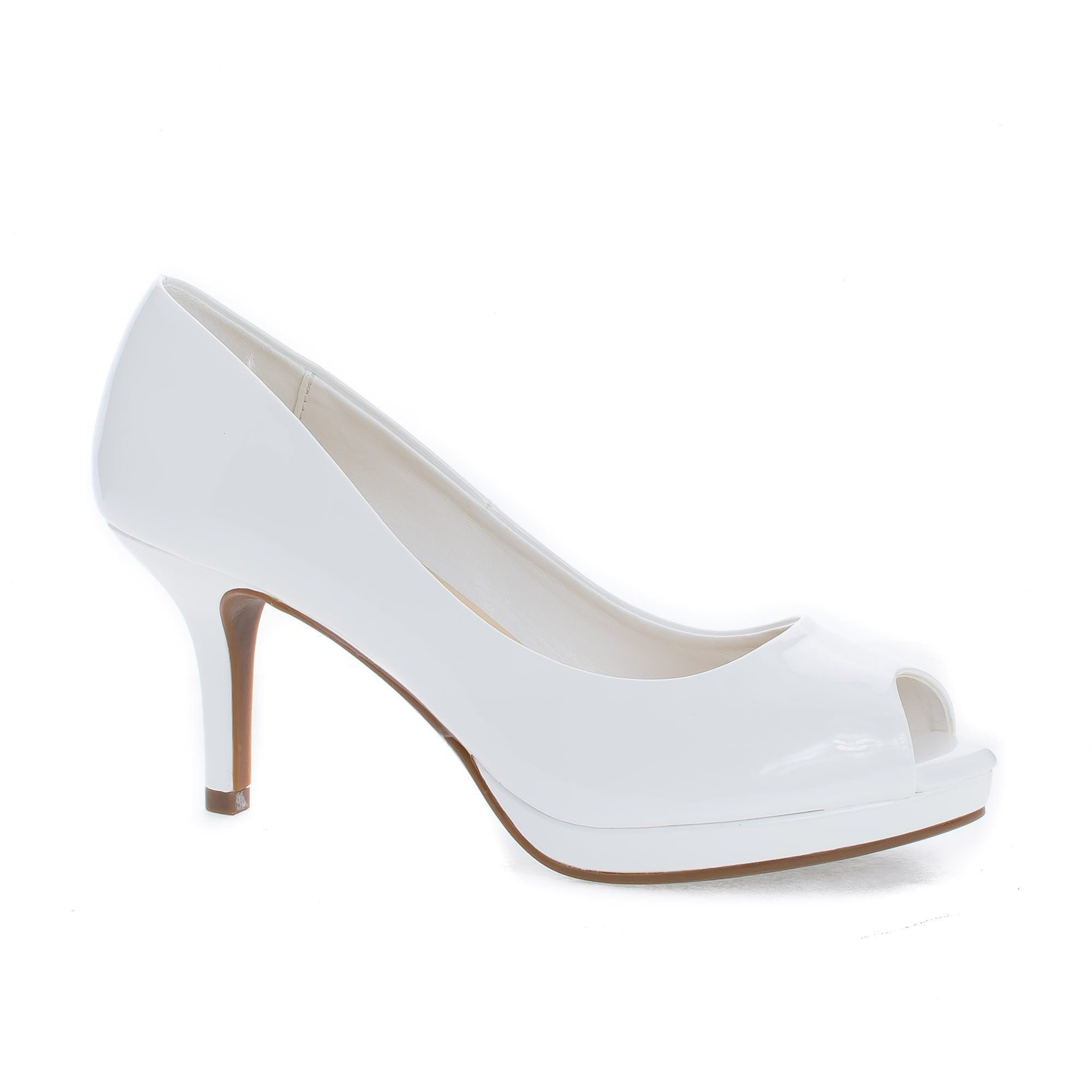 Walter By Classified, Peep Toe Extra Comfort Insole Stiletto